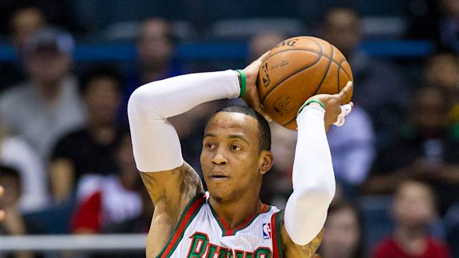 NBA: Charlotte Bobcats at Milwaukee Bucks