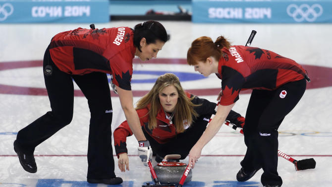Unbeaten Canada reaches Olympic curling semifinals