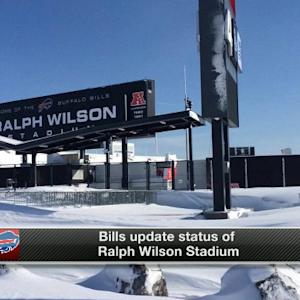 Ralph Wilson Stadium: No structural damage, but many repairs