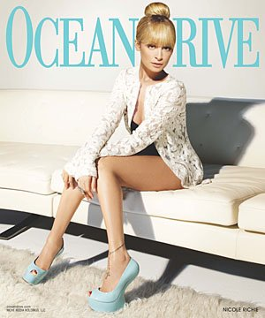Nicole Richie for Ocean Drive