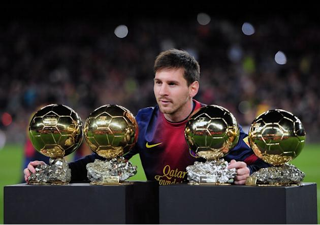 messi empat ballon d'or
