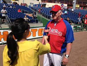 Philadelphia Phillies' Charlie Manuel Breaks Club Record While His Ship Takes on Water