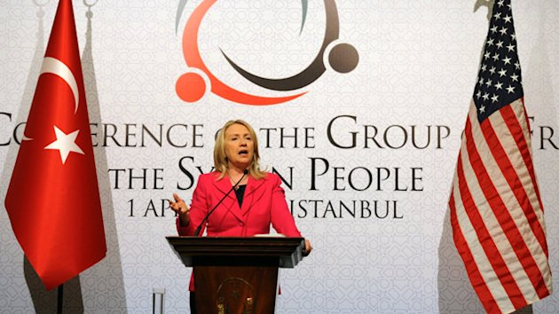 Secretary Clinton Says Syrian President Assad 'Must Go' (ABC News)