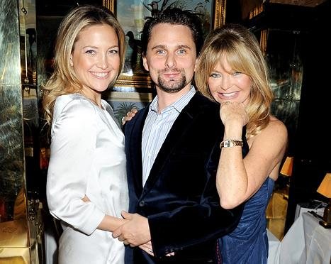 "Goldie Hawn: Kate Hudson and Matthew Bellamy Will Wed ""When They're Ready"""