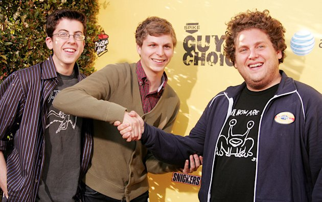 Jonah Hill 2007 Christopher Mintz Plasse Michael Cera