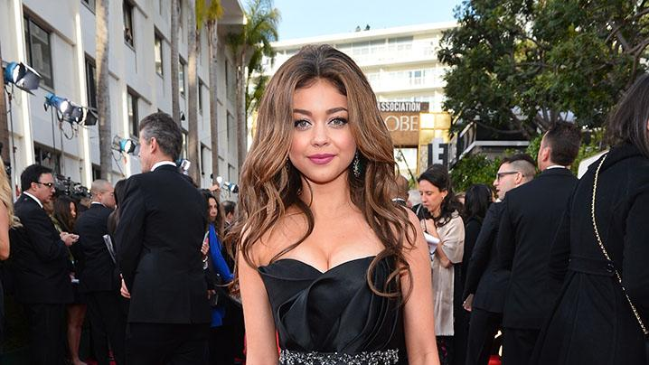 "NBC's ""70th Annual Golden Globe Awards"" - Red Carpet Arrivals: Sarah Hyland"