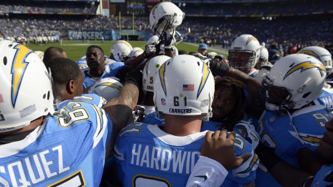 Baltimore Ravens v San Diego Chargers