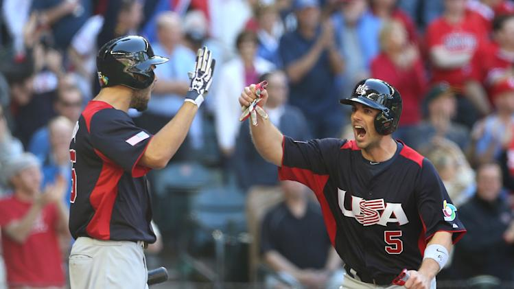 Baseball: World Baseball Classic-United States vs Canada