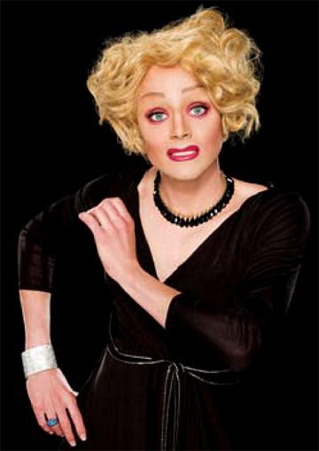 Tammie Brown competes in RuPaul's Drag Race. 