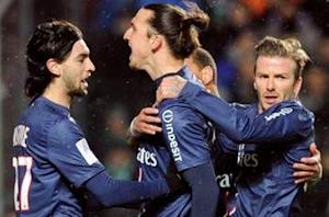 Saint-Etienne 2-2 Paris Saint-Germain: Hosts fight back from two down to slow PSG's title charge