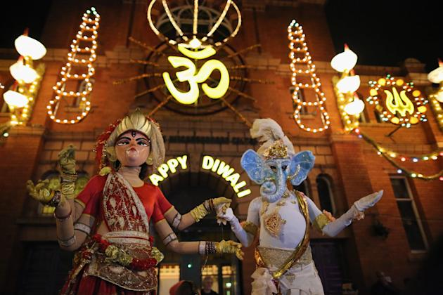 The Hindu Festival Of Diwali Is Celebrated Around The World