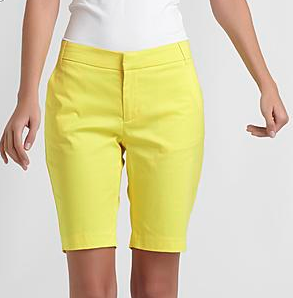 Sofia by Sofia Vergara Women's Sateen Bermuda Shorts, $19.99