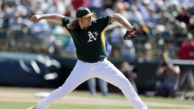 Kershaw hit hard again, Dodgers lose 7-3 to A's