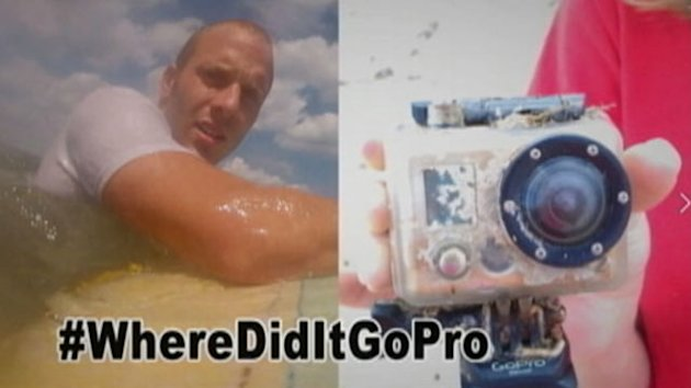 Facebook Reunites Surfer With Camera (ABC News)