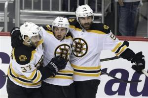 Bruins crush Penguins 6-1 to take 2-0 lead