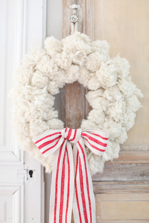 Pompom Wreath