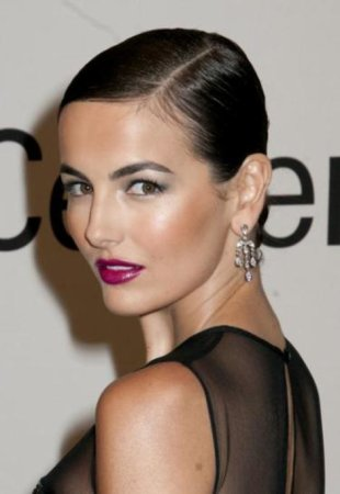 Camilla Belle has the navy blues!
