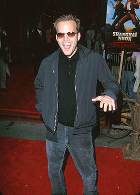 Stephen Dorff at the Hollywood premiere of Touchstone's Shanghai Noon