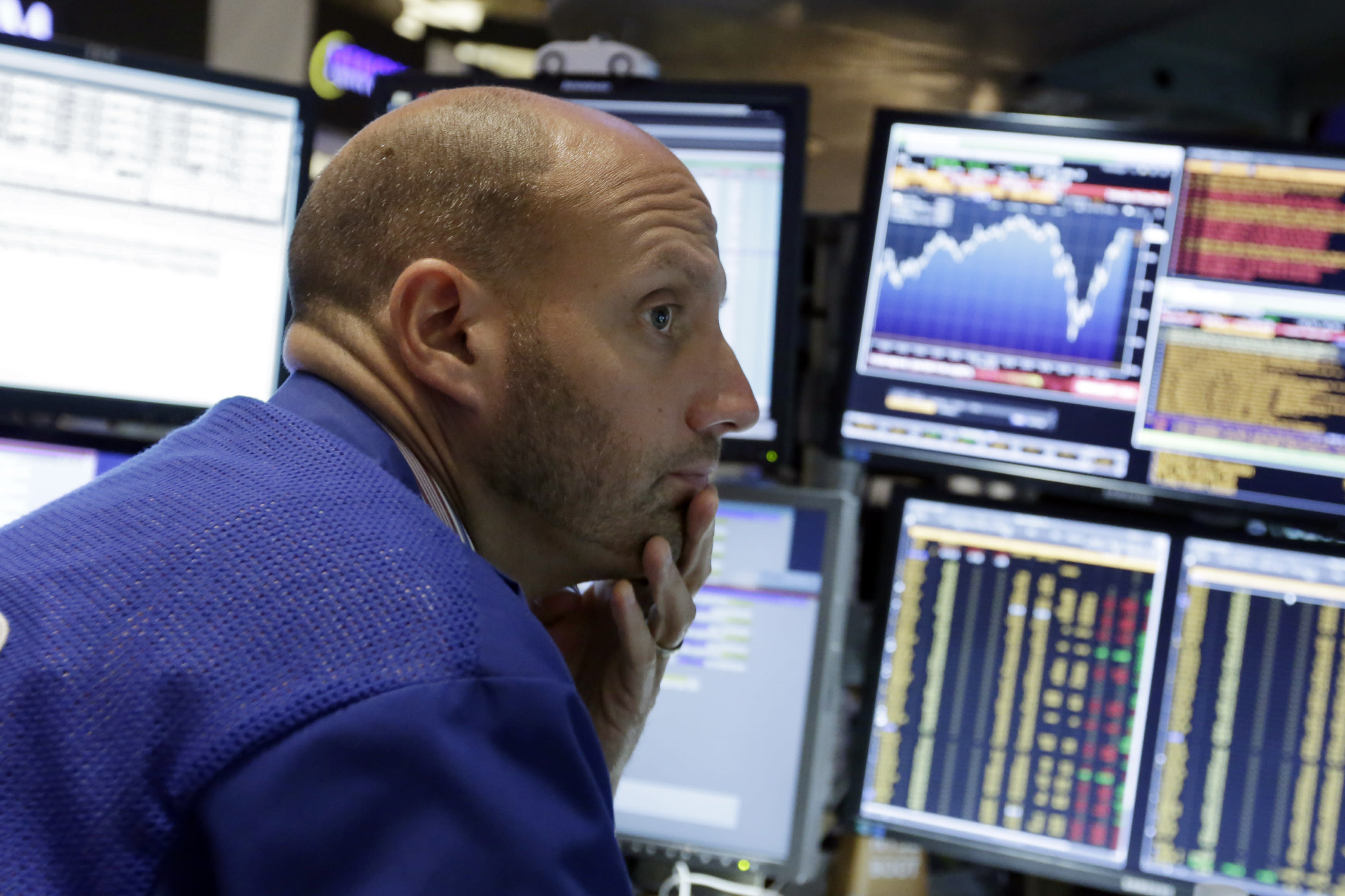 Calm on Wall Street: A turbulent week ends on a placid note