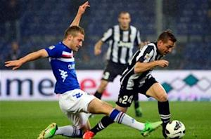 Sampdoria 3-2 Juventus: Blucerchiati complete league double over champions