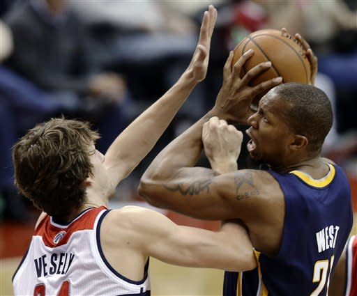 Pacers Wizards Basketball