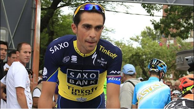 Tour de France - Top-Team für Contador
