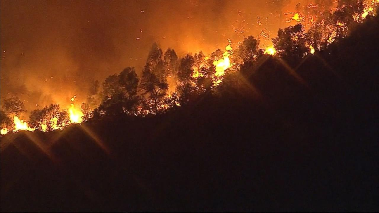 California Wildfire Forces Hundreds From Their Homes