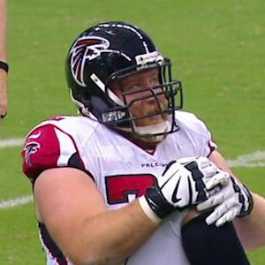 NFL NOW: Who will replace Sam Baker on Atlanta Falcons' offensive line?