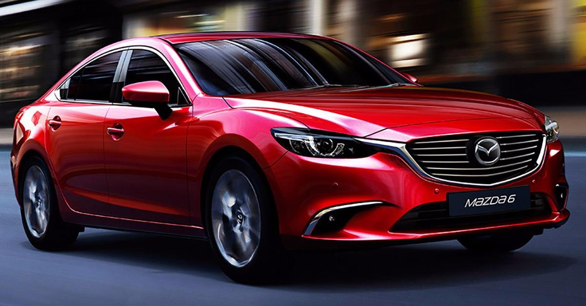 Powerful, But Efficient. MAZDA6