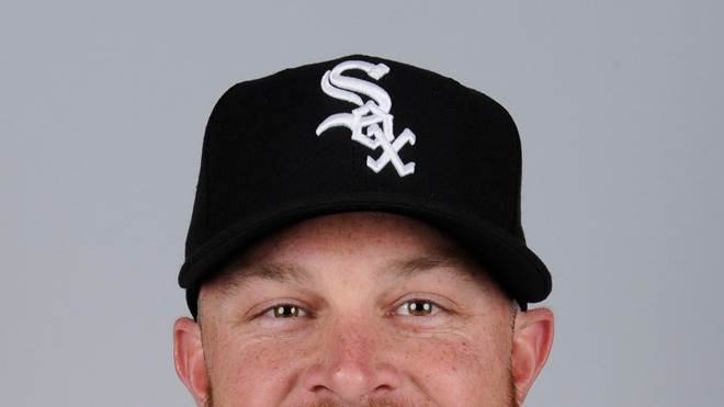 John Danks Baseball Headshot Photo