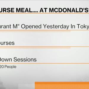 McDonald's High-End 'Restaurant M' Opens in Japan