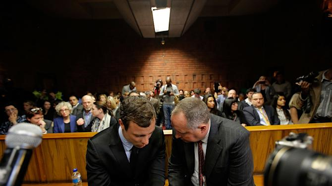 Oscar Pistorious At Indictment Hearing