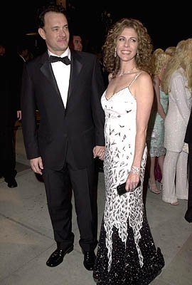 Tom Hanks and Rita Wilson 73rd Academy Awards Vanity Fair Party Beverly Hills, CA 3/25/2001