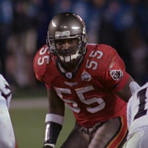 Derrick Brooks' 44-yard interception for six