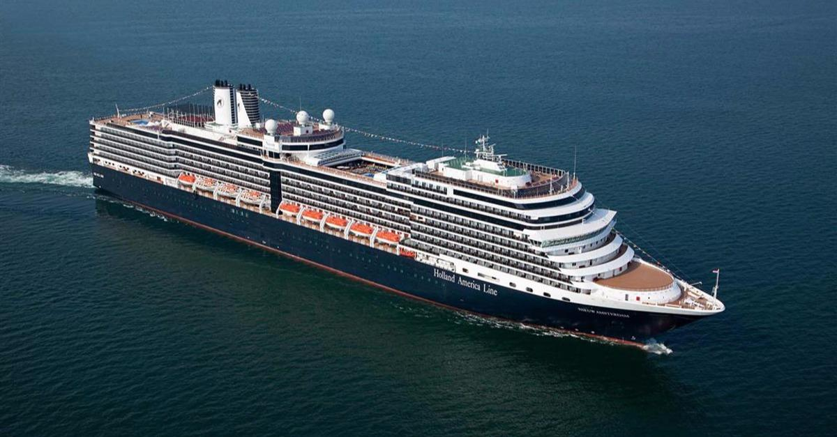 Holland America's Biggest Cruise Ship (Photos)