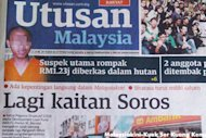 Saifuddin: Soros puppet regime tactic may backfire