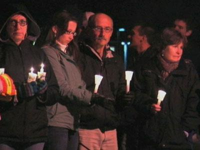 Vigil for Fallen Western N.Y. Firefighters