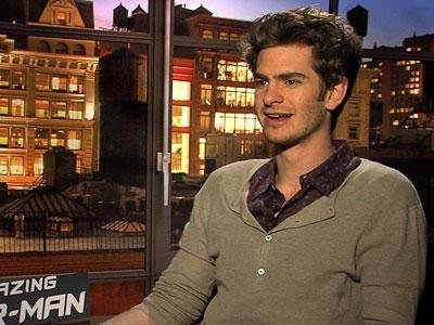 Andrew Garfield is a Spider-Man Super Fan