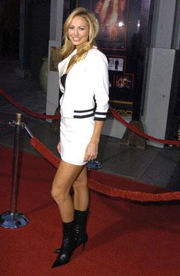 Premiere: Stacy Keibler at the L.A. premiere of Lions Gate's Godsend - 4/22/2004