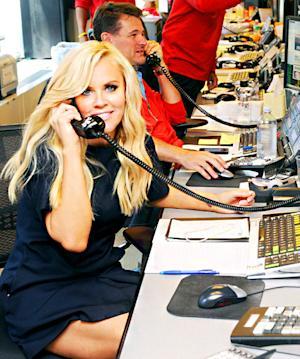 Jenny McCarthy Volunteers With Cantor Fitzgerald & BGC Partners in NYC