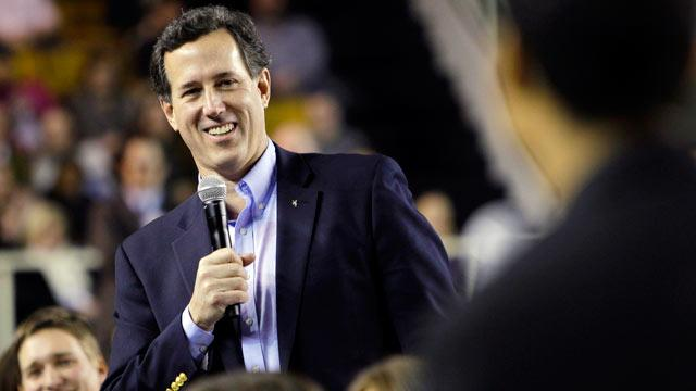 Rick Santorum Meant to Say 'Men's Emotional Issues'