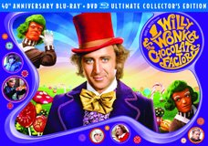 Willy Wonka and the Chocolate Factory Box Art