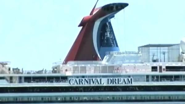Carnival-owned cruise ship arrives in San Francisco