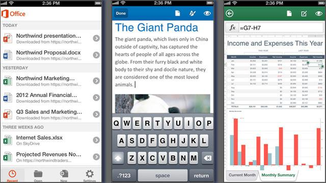 Microsoft Office Comes to the iPhone With Some Stipulations