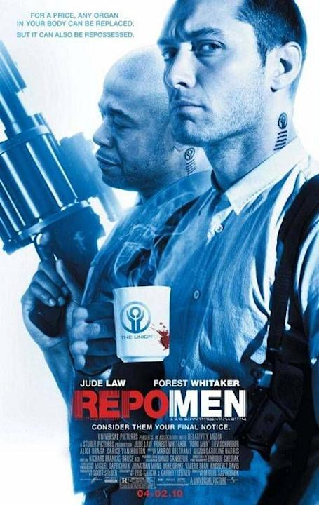 Movie: Repo Men, starring Jude Law