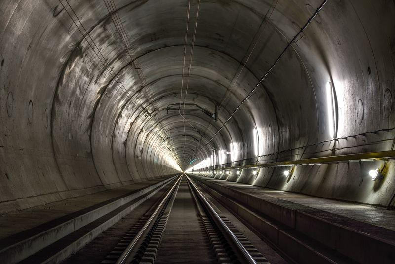 The world's longest tunnel is almost finished