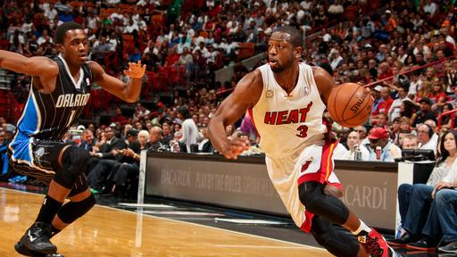 Heat win 66th, top Magic 105-93