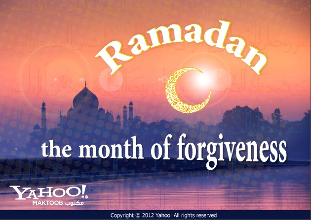 Ramadan the month of forgiveness