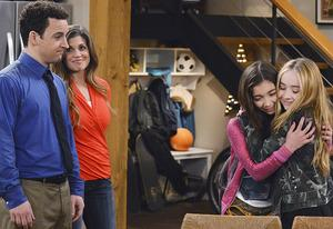 Ben Savage, Danilelle Fishel, Rowan Blanchard, Sabrina Carpenter | Photo Credits: Eric McCandless/Disney Channel
