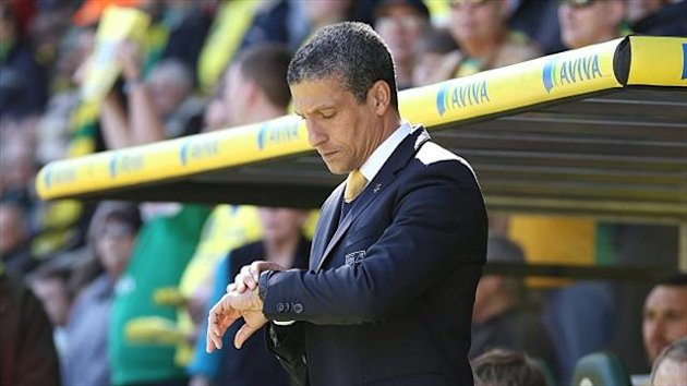 Chris Hughton, Norwich (PA Photos)